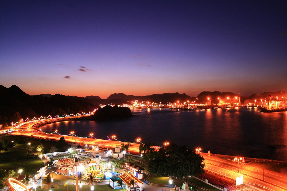 oman muscat time lapse